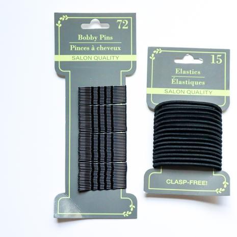 Bobby Pins + Hair Ties (package)