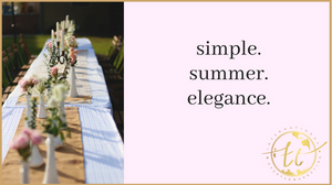 Simple Summer Elegance Theme