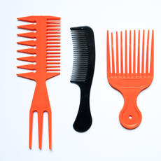 Variety of Hair Combs