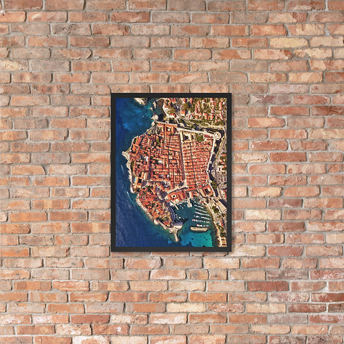 Dubrovnik, Croatia | Framed