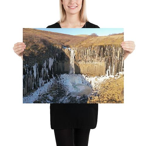 Svartifoss, Iceland   Print