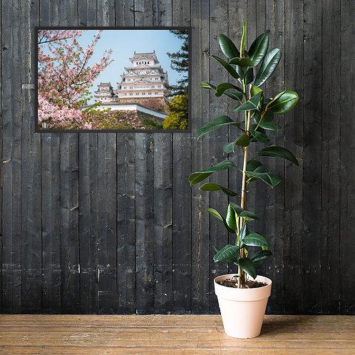 Himeji Castle, Japan   Framed