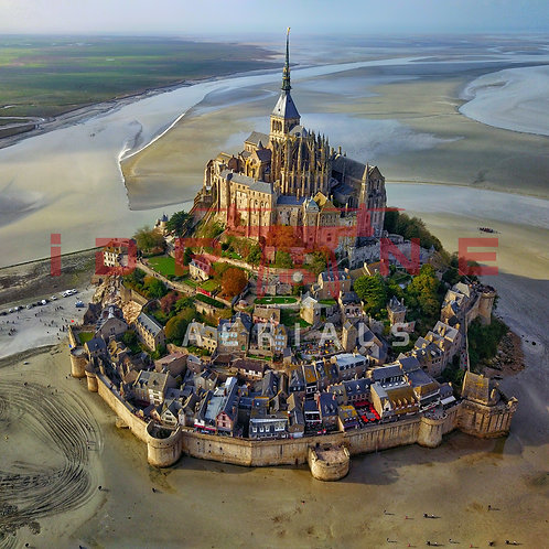 Mont Saint Michel, France