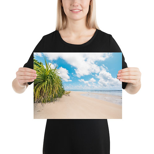 Beach in Borneo   Print