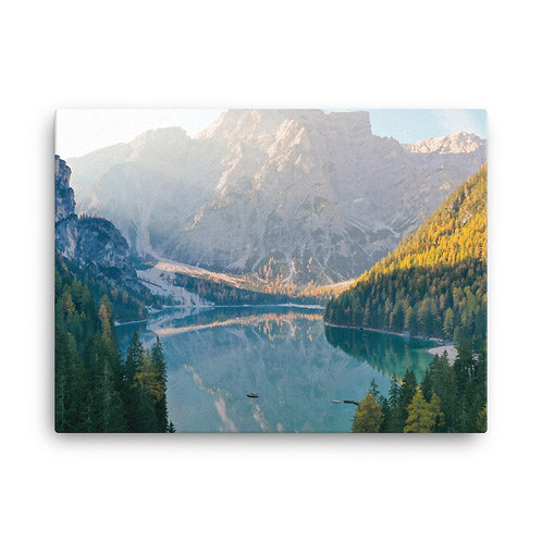Lago Di Braies, Italy | Canvas