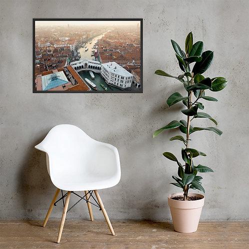 Rialto Bridge, Venice | Framed