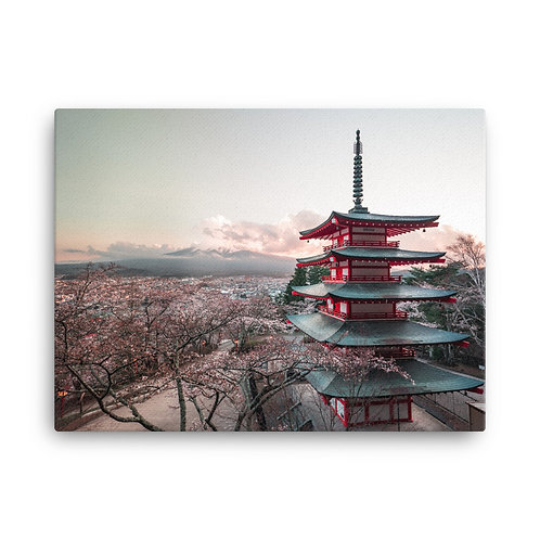 Chureito Pagoda | Canvas