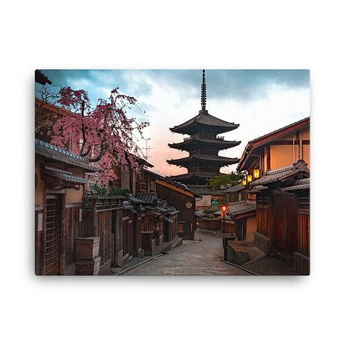 Kyoto Nineizaka Sunrise | Canvas