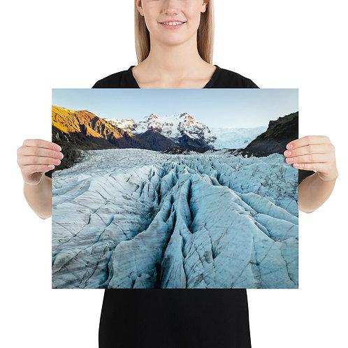 Svinafellsjökull, Iceland | Print