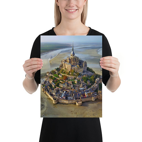Mont Saint Michel, France   Print