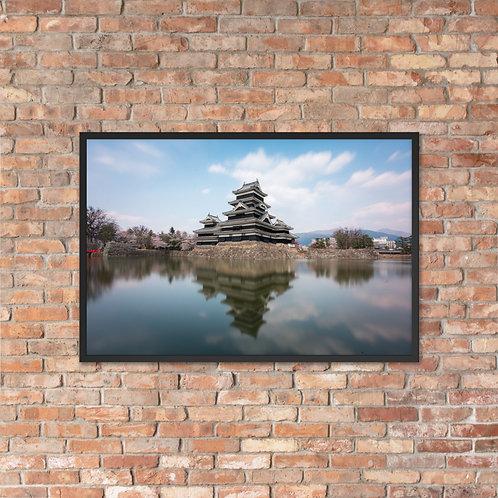 Matsumoto Castle, Japan   Framed