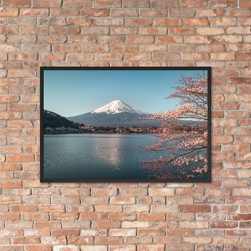Lake Kawaguchiko, Japan | Framed