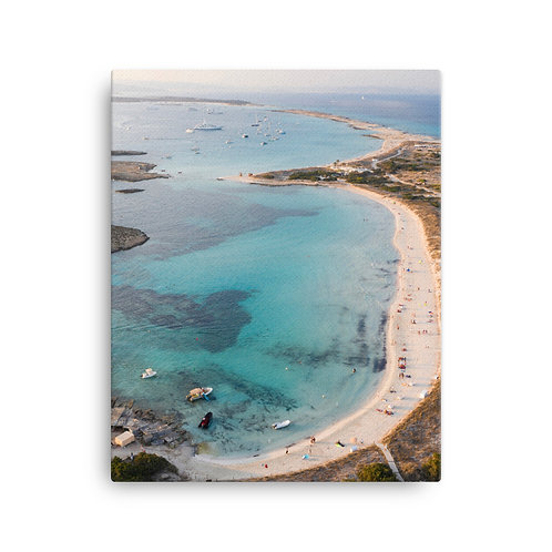 Play Des Illetes, Formentera | Canvas