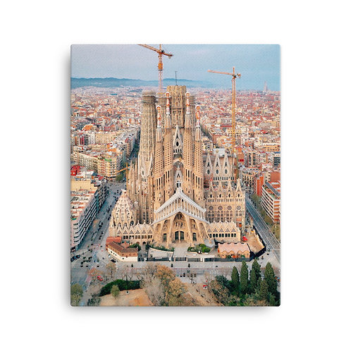Sagrada La Familia, Barcelona | Canvas