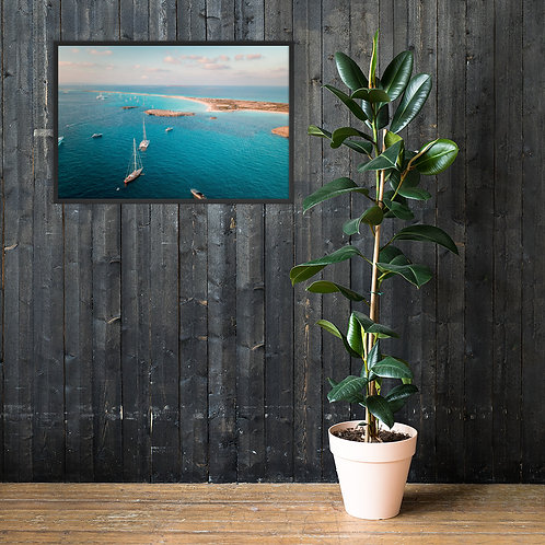 Formentera, Spain | Framed