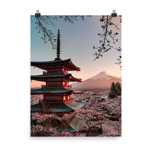 Chureito Pagoda | Print