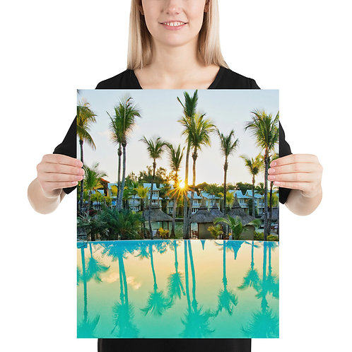 Palm Trees, Mauritius | Print