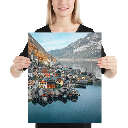 Hallstatt, Austria   Print