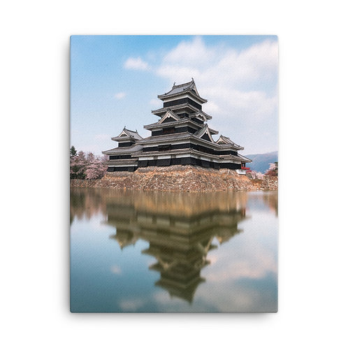 Matsumoto Castle, Japan | Canvas