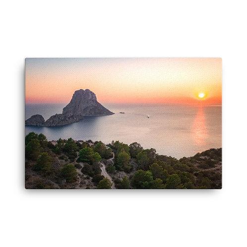 Es Vedra Sunset, Ibiza   Canvas