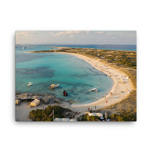 Play Des Illetes, Formentera | Canvas