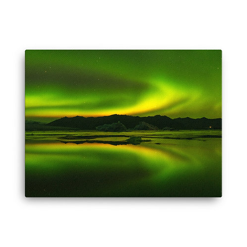 Northern Lights, South Iceland | Canvas