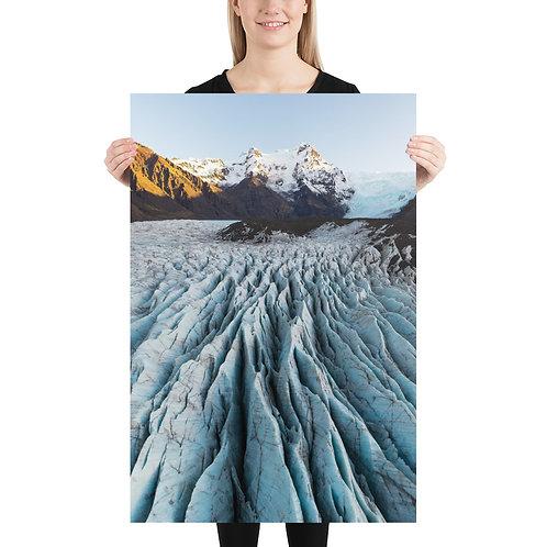 Svinafellsjökull, Iceland   Print