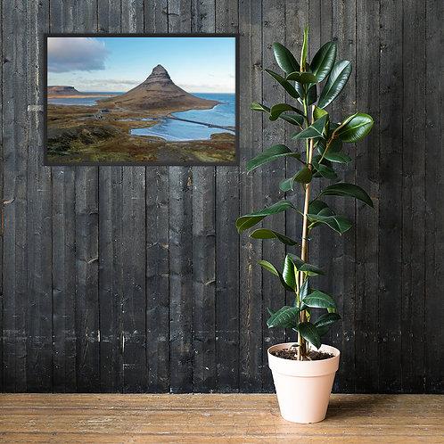 Kirkjufell, Iceland | Framed