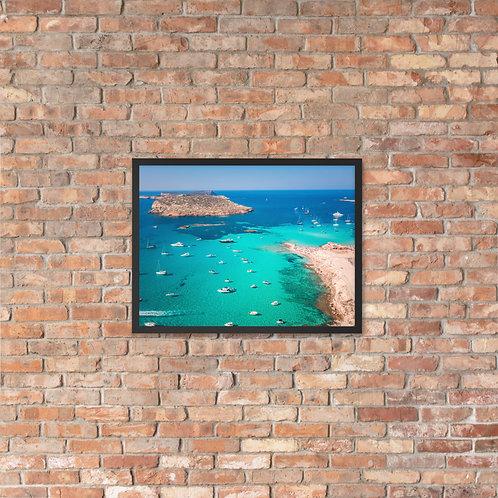 Cala Comte, Ibiza   Framed