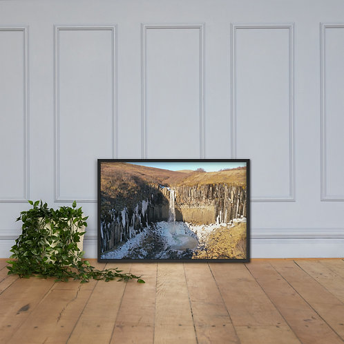 Svartifoss, Iceland | Framed