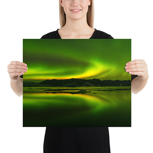 Northern Lights, South Iceland | Print