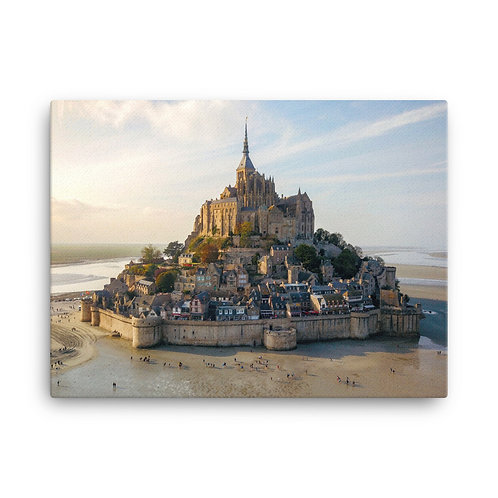 Mont Saint Michel, France | Canvas