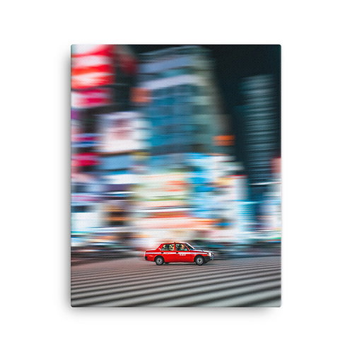 Taxi in Tokyo | Canvas