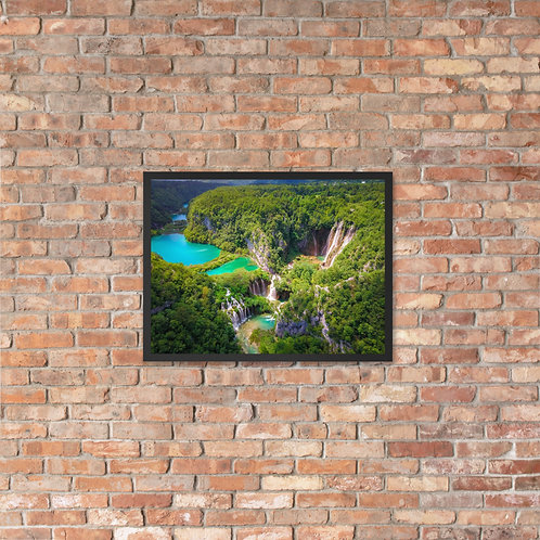 Plitvice Lakes, Croatia | Framed