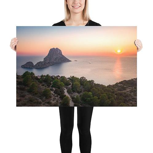 Es Vedra Sunset, Ibiza   Print