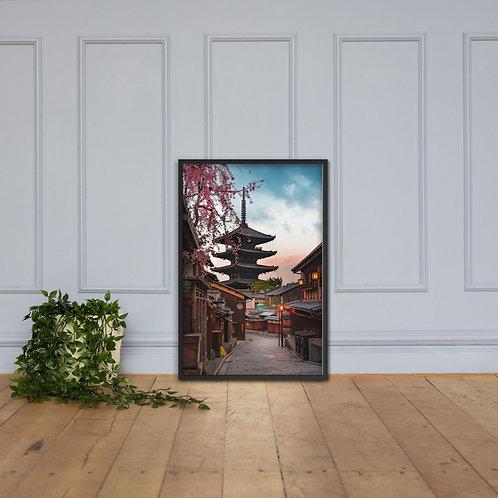 Kyoto Nineizaka Sunrise | Framed