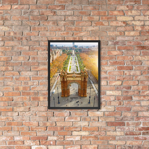 Arc De Triumph, Barcelona | Framed