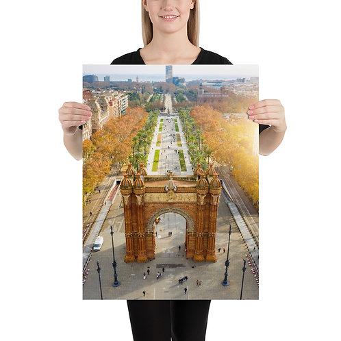 Arc De Triumph, Barcelona | Prints