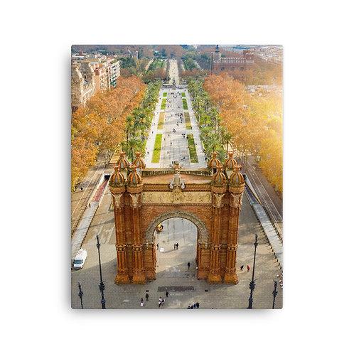 Arc de Triumph, Barcelona | Canvas
