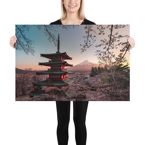 Chureito Pagoda Sunset | Print