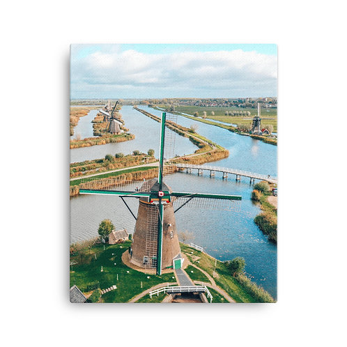 Kinderdijk Windmills | Canvas