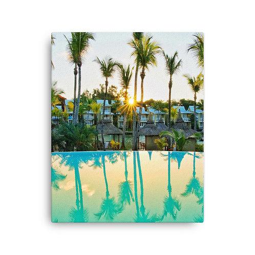 Palm Trees, Mauritius | Canvas