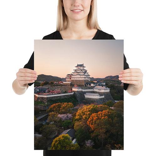Himeji Castle Sunset | Print