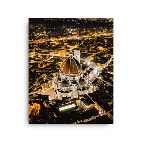 Florence, Italy At Night | Canvas