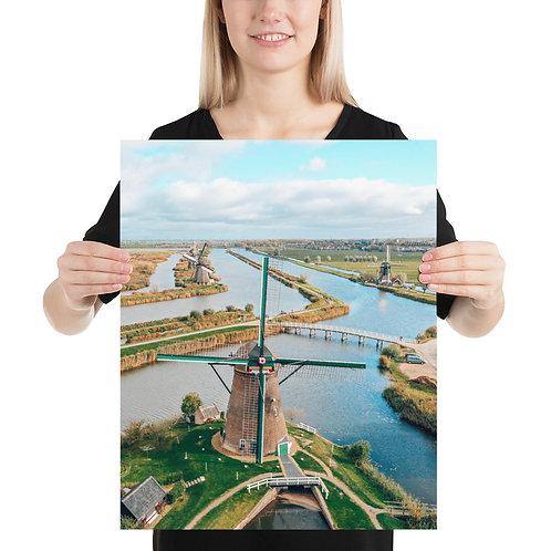 Kinderdijk Windmills | Print