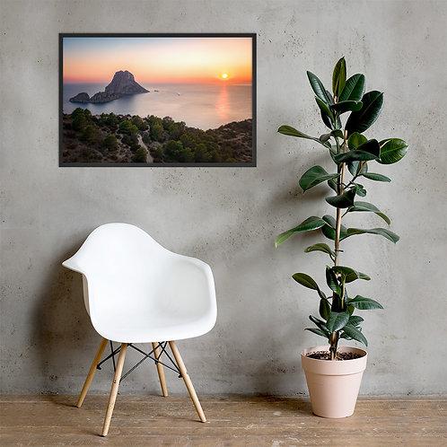 Es Vedra Sunset, Ibiza   Framed