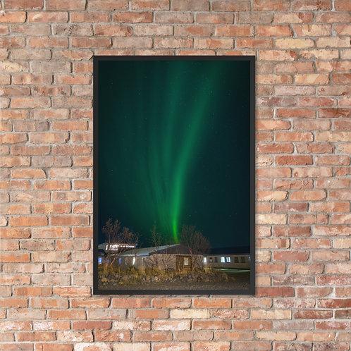 Northern Lights, Iceland | Framed