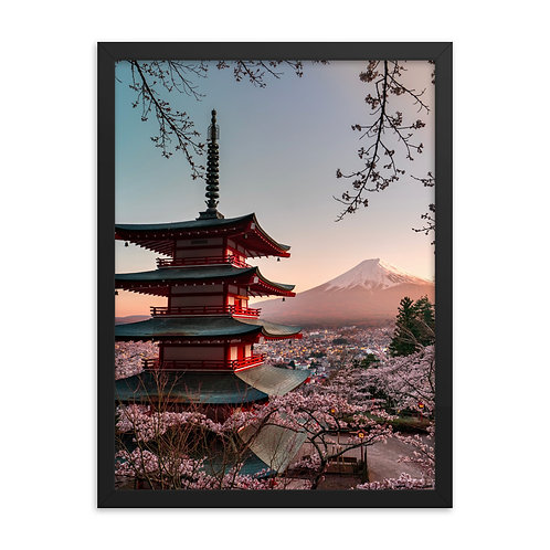 Chureito Pagoda | Framed Print