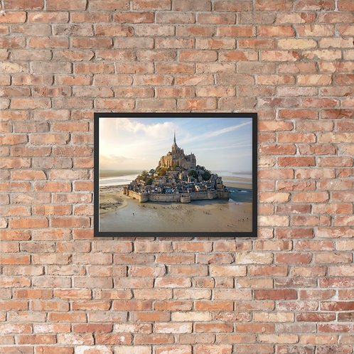 Mont Saint Michel, France | Framed