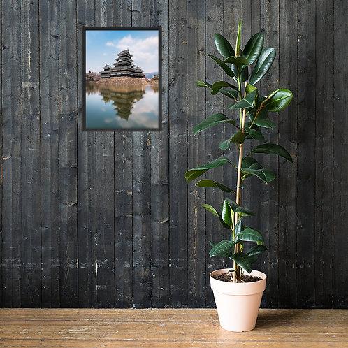 Matsumoto Castle, Japan | Framed